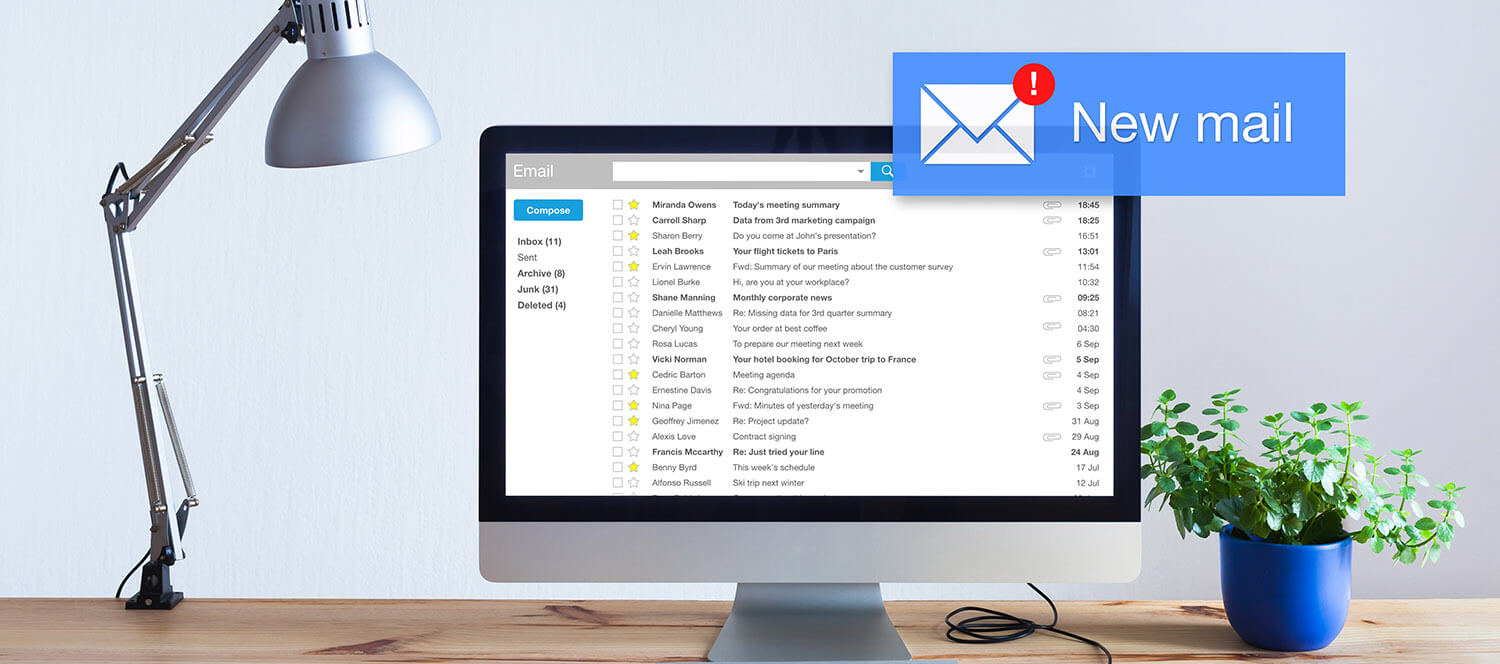Organize emails in Gmail